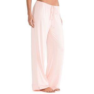 Wildfox Womens Pants M Pink  Peach Pajama Bottoms